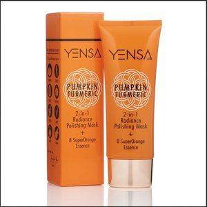 NWT Yensa Pumpkin Turmeric Polishing Mask